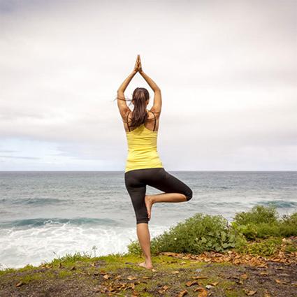 Yoga im Grünen