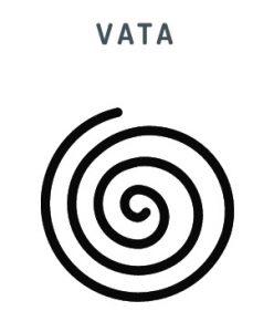 Das Symbol für die Vata Lebensenergie